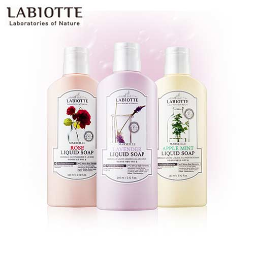 LABIOTTE Marseille Liquid Soap 160ml,Beauty Box Korea