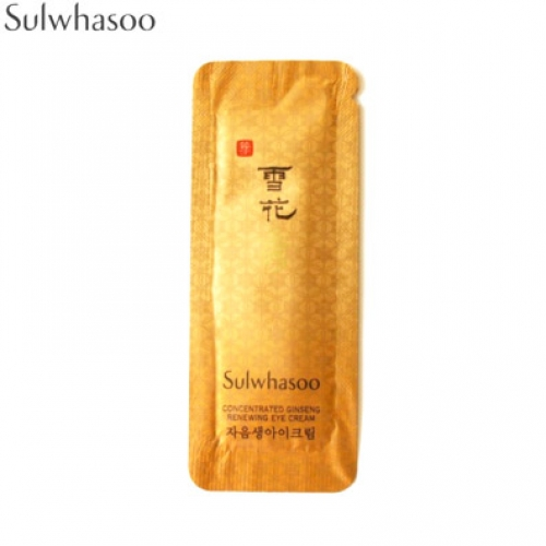 [mini]SULWHASOO Concentrated Ginseng Renewing Eye Cream 1ml*10ea, SULWHASOO