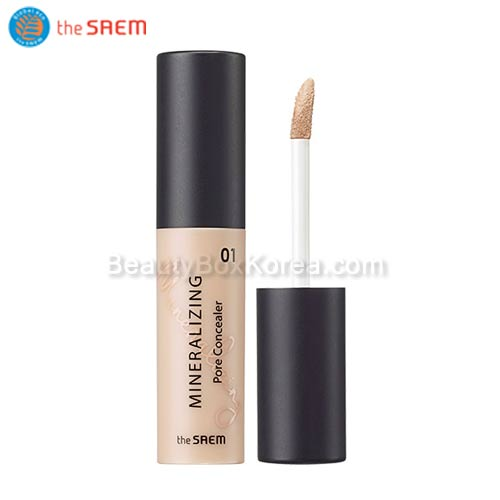 The SAEM Mineralizing Pore Concealer SPF30 PA++ 4ml,Beauty Box Korea