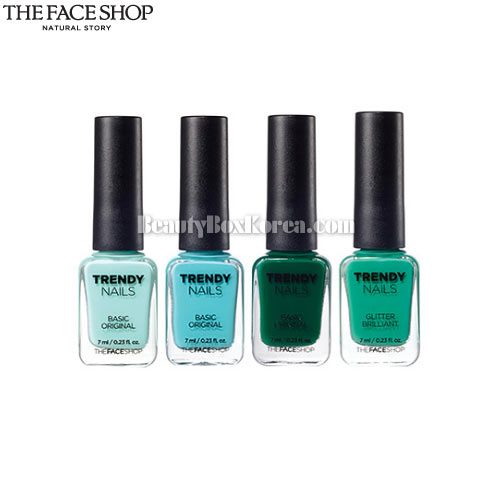 THE FACE SHOP Trendy Nails 7ml, THE FACE SHOP