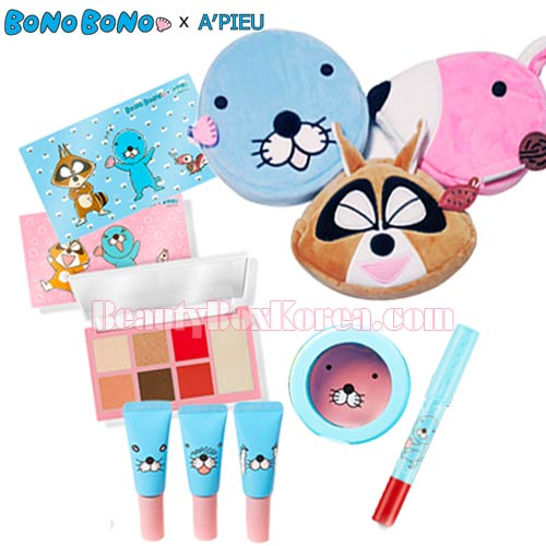 A'PIEU BonoBono Value Pack 5items,Beauty Box Korea