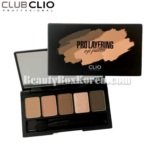 [mini] CLIO Pro Layering Eye Palette 0.09g*5colors