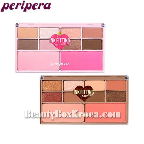 PERIPERA Ink Fitting Color Palette 1.1g*8+5g*2