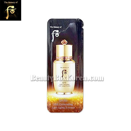 [mini] THE HISTORY OF WHOO Bichup Sel-generating Anti-aging Essence 1ml *10ea (Whoo Bichup Essence), THE HISTORY OF WHOO