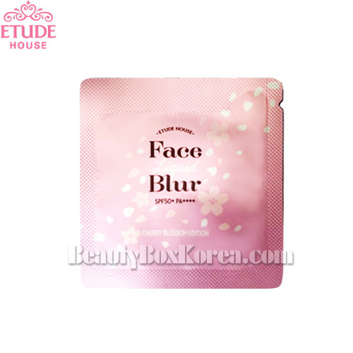 [mini] ETUDE HOUSE Face Liquid Blur SPF50+PA++++ 1ml*10ea [CHERRY BLOSSOM EDITION]