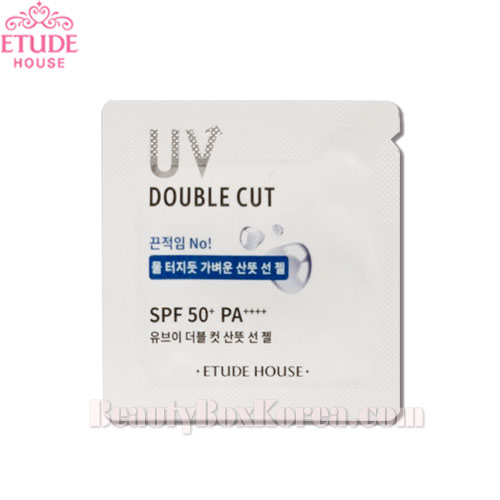 [mini] ETUDE HOUSE UV Double Cut Fresh Sun Gel SPF50+PA++++ 1ml*10ea