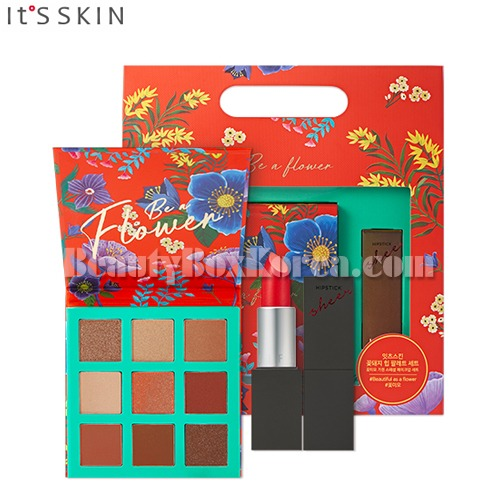 IT'S SKIN Be a Flower Palette&Hipstick Sheer[Be a Flower Limited Edition][Online Excl.],IT'S SKIN