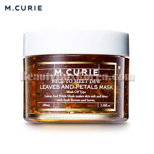 M.CURIE Leaves And Petals Mask 100ml,Other Brand