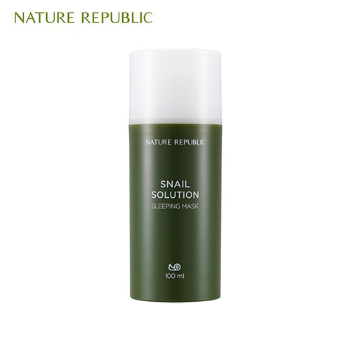 NATURE REPUBLIC Snail Solution Sleeping Mask 100ml, NATURE REPUBLIC