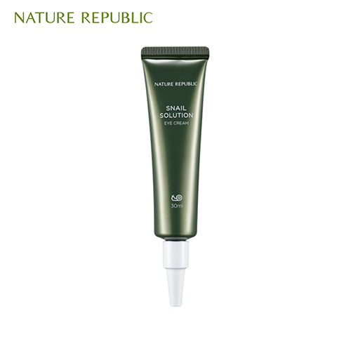 NATURE REPUBLIC Snail Solution Eye Cream 30ml, NATURE REPUBLIC