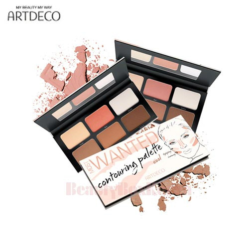 ARTDECO Most Wanted Contouring Palette 6*4.3g