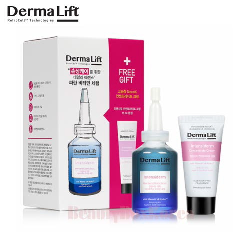 DERMALIFT Intensiderm Blue NecroX Vitamin Serum Set 2items