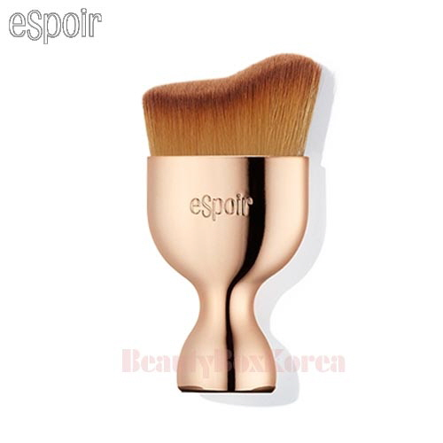 ESPOIR Pro Tailoring Curved Face Brush 1ea AD (Gold)