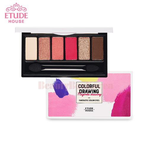 ETUDE HOUSE Colorful Drawing Fantastic Color Eyes 0.7g*6
