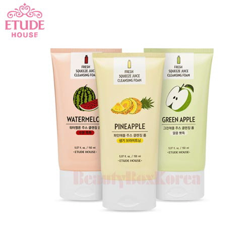 ETUDE HOUSE Fresh Squeeze Juice Cleansing Foam 150ml
