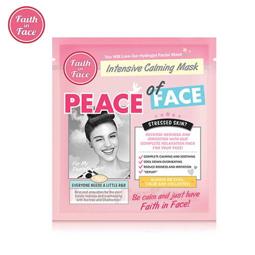 FAITH IN FACE  Peace Of Face Hydrogel Mask 25g