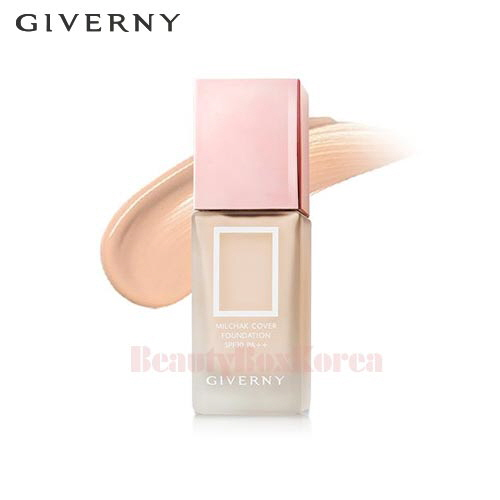 GIVERNY Milchak Cover Foundation SPF30 PA++ 30ml