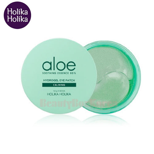 HOLIKA HOLIKA Aloe Soothing Essence 80% Hydrogel Eye Patch 1.4g*60