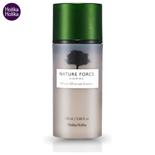 HOLIKA HOLIKA Nature Force Homme Oil Cut All In One Essence 100ml, HOLIKAHOLIKA