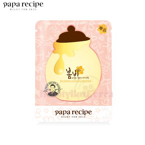 PAPA RECIPE Bombee Rose Gold Honey Mask Pack 25ml