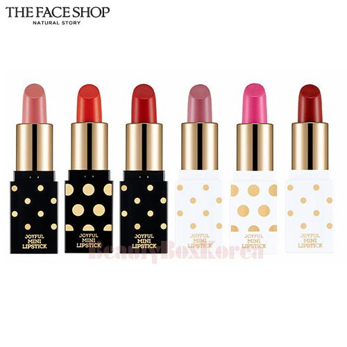 THE FACE SHOP Holiday Joyful Mini Lipstick Kit 1.3g*3ea [All The Wishes Edition]