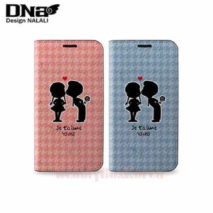 DESIGN NALALI 2Items Couple Sillouette Kids Diary Phone Case,DESIGN NALALI,Beauty Box Korea