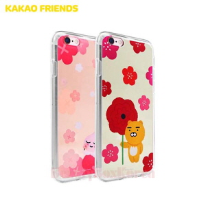 KAKAO FRIENDS Flower Mirror Phone Case,Beauty Box Korea
