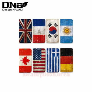 DESIGN NALALI 8Items Grunge Flag Wallet Diary Phone Case,DESIGN NALALI,Beauty Box Korea