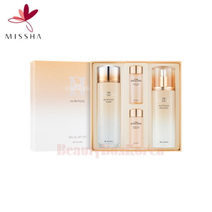 MISSHA Time Revolution Nutritious Special Set 4items,MISSHA,Beauty Box Korea