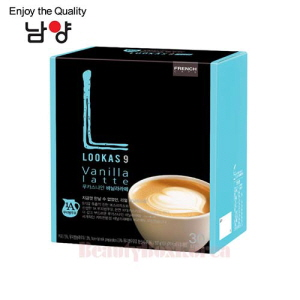 NAMYANG Lookas 9 Vanilla Latte 16.9g*30T,NAM YANG,Beauty Box Korea