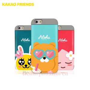 KAKAO FRIENDS Aloha Card Bumper Phone Case,Beauty Box Korea
