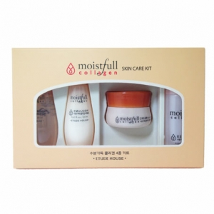 [mini] ETUDE HOUSE Moistfull Collagen Skin Care Kit - 1pack(4pcs), ETUDE HOUSE