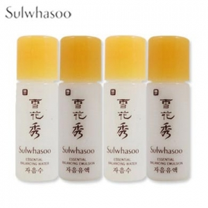 [mini] SULWHASOO Essential Balancing Water 5ml & Emulsion 5ml 2Sets(4pcs), SULWHASOO