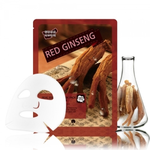 MAY ISLAND Real Essense Red Ginseng Mask Pack 25ml, MAYISLAND