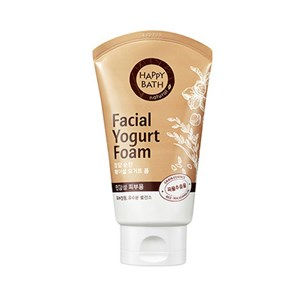 HAPPY BATH Facial Yogurt Foam #Fresh(grain) 120g, HAPPY BATH