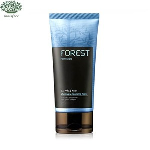 INNISFREE Forest For Men Shaving & Cleansing Foam 150ml, INNISFREE