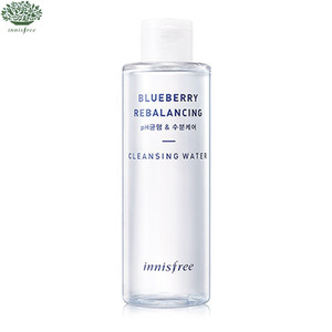 INNISFREE Super Food  Blueberry Rebalancing Cleansing Water 200ml [PH Balance & Moisture Care] , INNISFREE