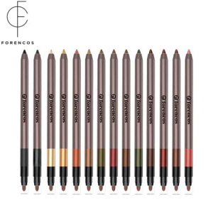 FORENCOS Long Lasting 14 Water Proof Eyeliner 1.8g [1+1], FORENCOS