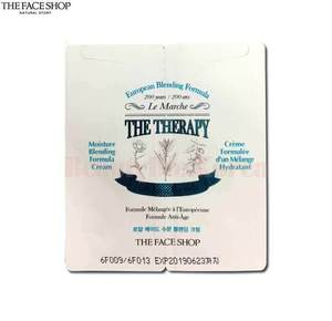 [mini] THE FACE SHOP The Therapy Royal Made Moisture Blending Cream 2.2ml*10ea, THE FACE SHOP