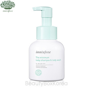 INNISFREE The Minimum Baby Shampoo & Body Wash 300ml, INNISFREE