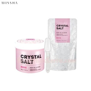 MISSHA Crystal Salt Body Oil & Scrub 500g