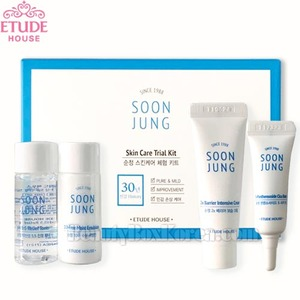 [mini] ETUDE HOUSE Soon Jung Skin Care Trial Kit 4iems