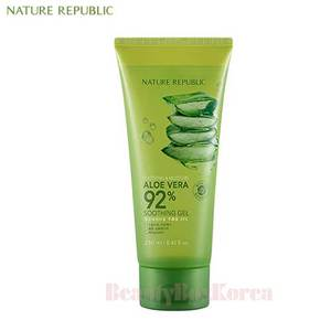NATURE REPUBLIC Soothing & Moisture Aloe Vera 92% Soothing Gel (Tube) 250ml