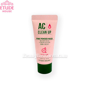[mini] ETUDE HOUSE AC Clean Up Pink Powder Mask 20ml