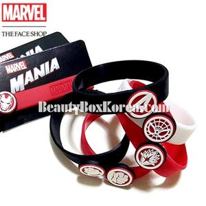 THE FACE SHOP Marvel Silicon Band 1ea [Marvel Collaboration]