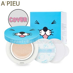 A'PIEU Air Fit Cushion XP Special Set SPF50+PA+++ 14g*2ea [BonoBono Edition],Beauty Box Korea