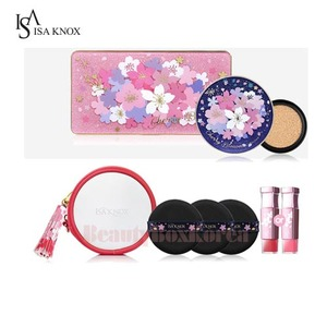 ISA KNOX Age Focus Cover Cushion Cherry Blossom Set 5items [Monthly Limited - March 2018]