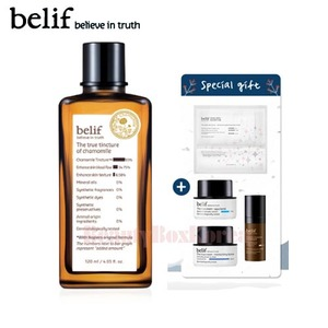 BELIF The True Tincture Of Chamomile Jumbo Set 5items [Monthly Limited -March 2018]