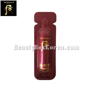 [mini]THE HISTORY OF WHOO Jinyulhyang Intensive Revitalizing Essence 1ml*10ea,Beauty Box Korea