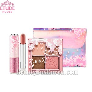 ETUDE HOUSE Cherry Blossom Festival Kit 4items [Cherry Blossom Edition],ETUDE HOUSE,Beauty Box Korea